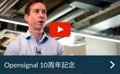 Celebrating 10 years of Opensignal - Opensignal 10周年記念